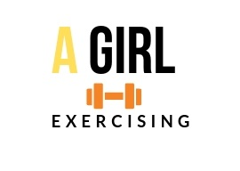 A Girl Exercising